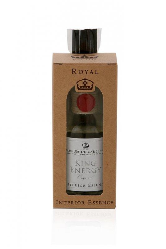 Interiérová esence KING ENERGY 50 ml - Čirý flakon